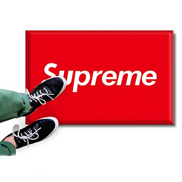 supremeラグマット